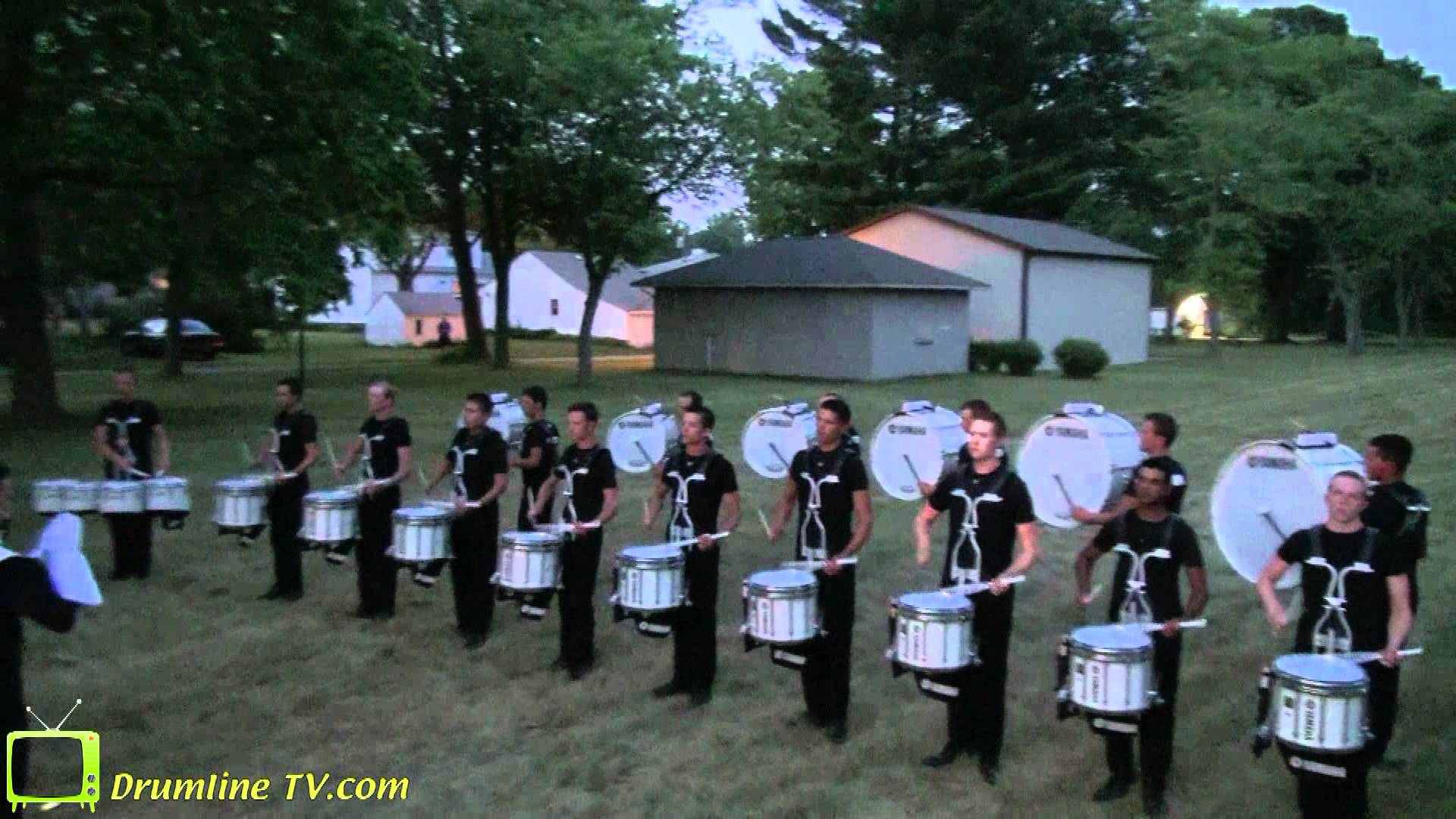 Cavaliers Drumline 2012 – Pageant of Drums Show – Michigan City, Indiana 6-30-2012