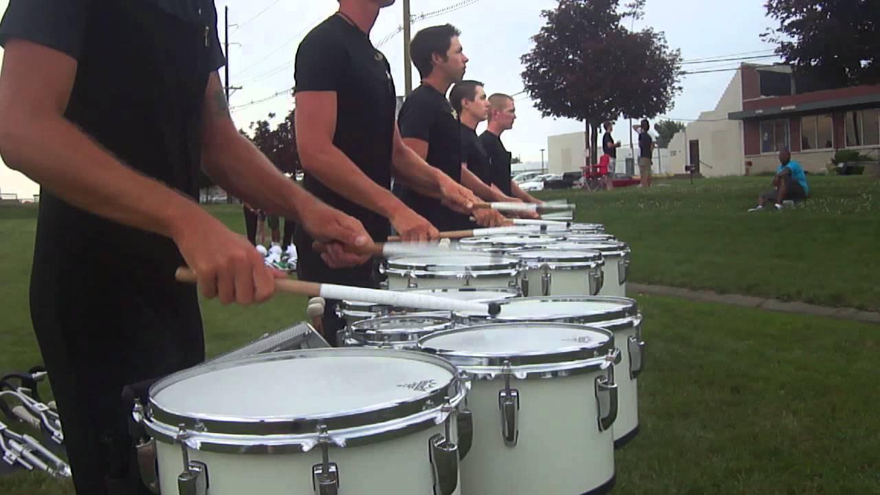 Cavaliers Drumline 2012 Tenors Triplet Diddle