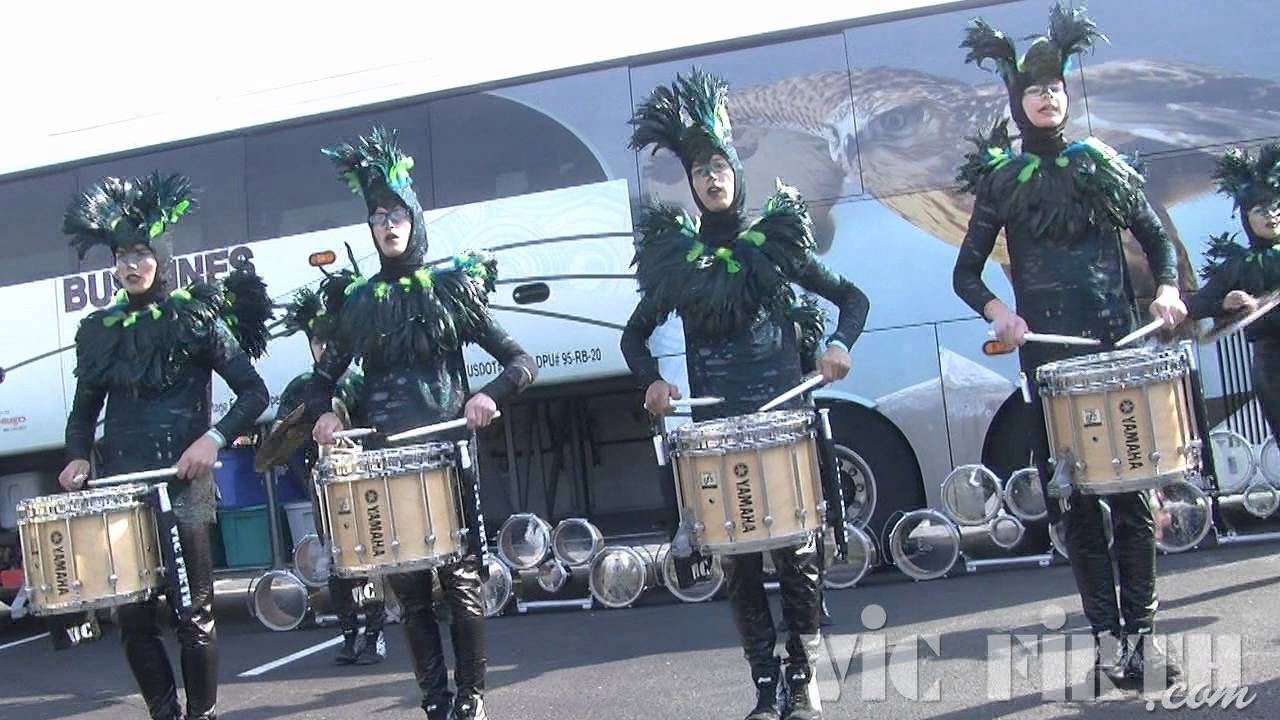 "Dartmouth HS: Vic Firth WGI 2012 ""In The Lot"" Video #1"