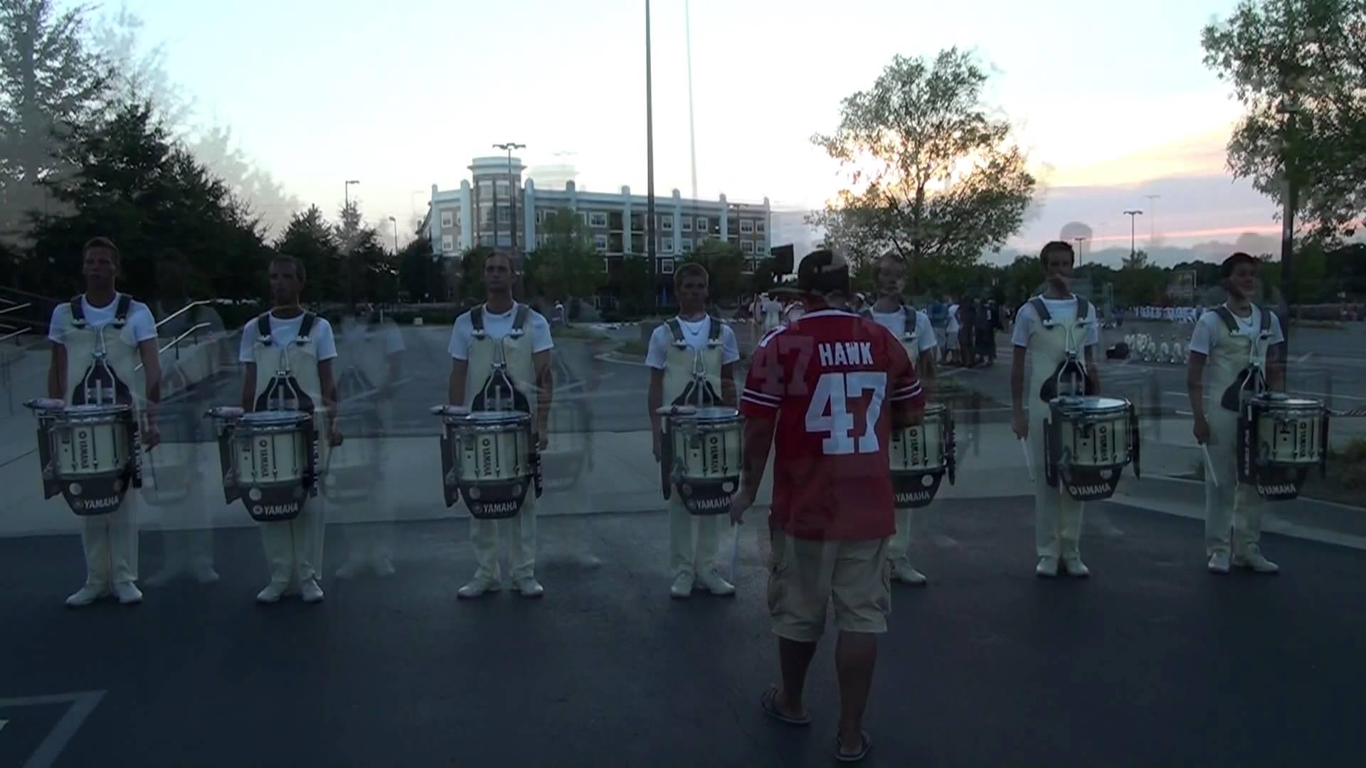 DCI 2012 Carolina Crown Drumline Snares (8 of 8)