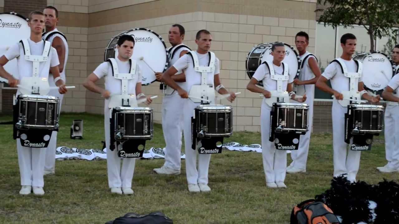 DCI 2012 | Phantom Regiment drum line | Denton, TX | (Part of the book)