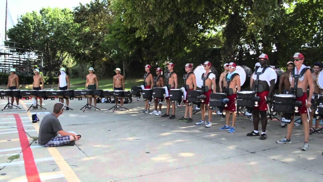 DCI 2012 | Santa Clara Vanguard Drum line | Coppell, TX | Mars (with drum break)