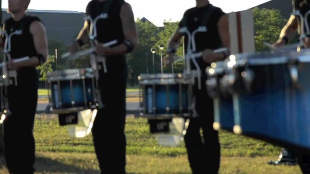 DCI: Bluecoats Drumline 2012 – - Warm-Up