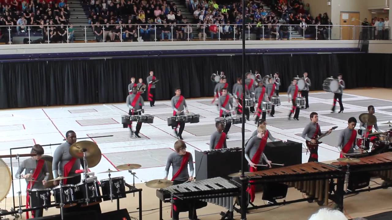 Dominion Storm Indoor Drumline – AIA Championships 2012