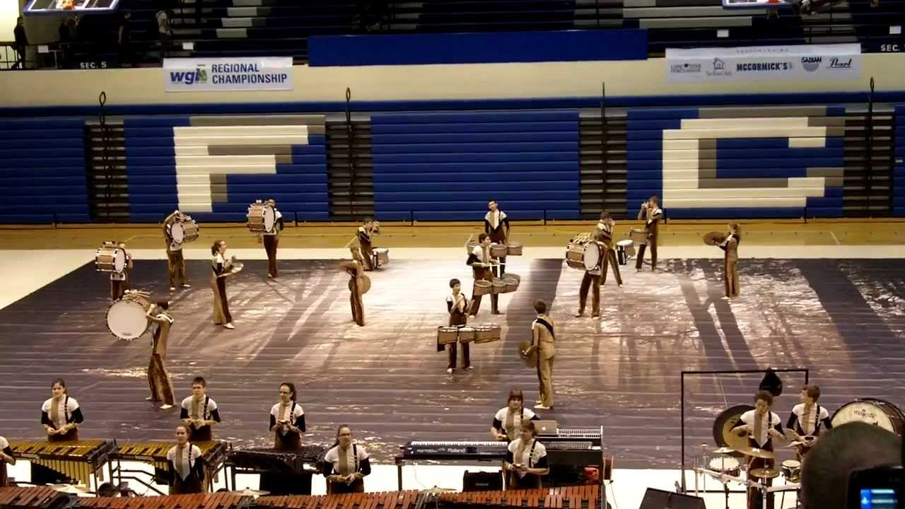 FHN Winter Drumline 2012 @ WGI Indianapolis Regional Finals 2/19/12