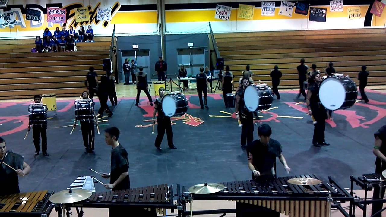 "Foothill HS 2012 Winter Percussion ""Vodun"" – Granada"