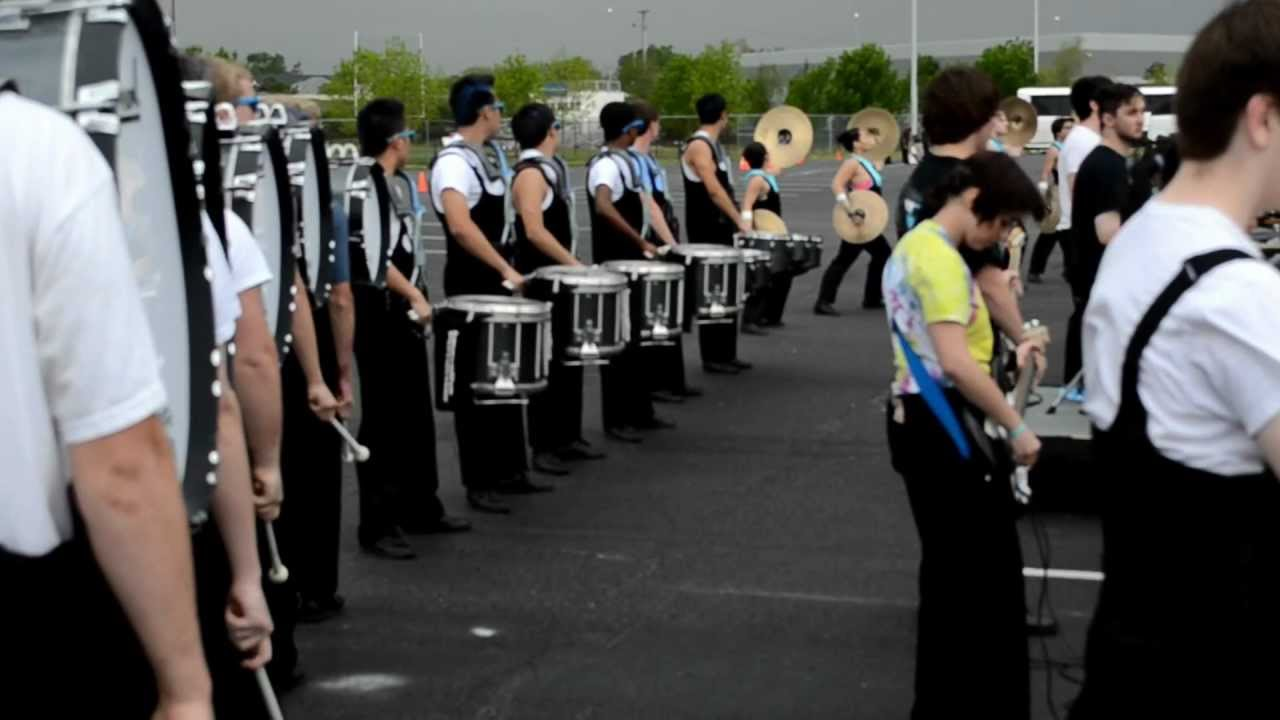 Freedom HS Indoor Drumline 2012 – WGI Finals Lot