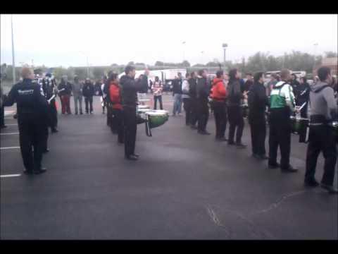 George Mason Battery WGI 2012 Finals Lot