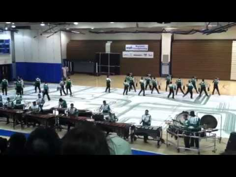 GMU drumline 2012 performs their show on March 24th at WGI regional in PA