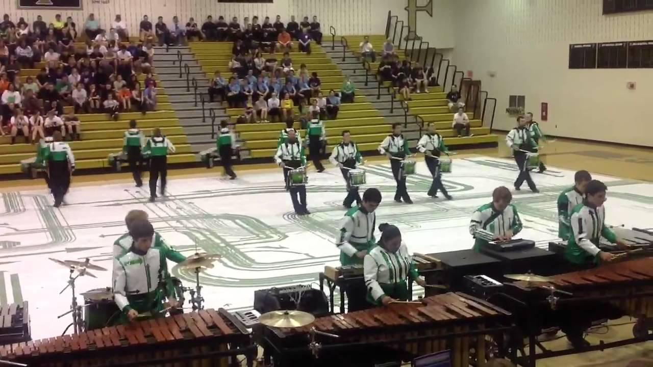 GMU indoor drum line 2012 performance at Freedom HS Sat 17