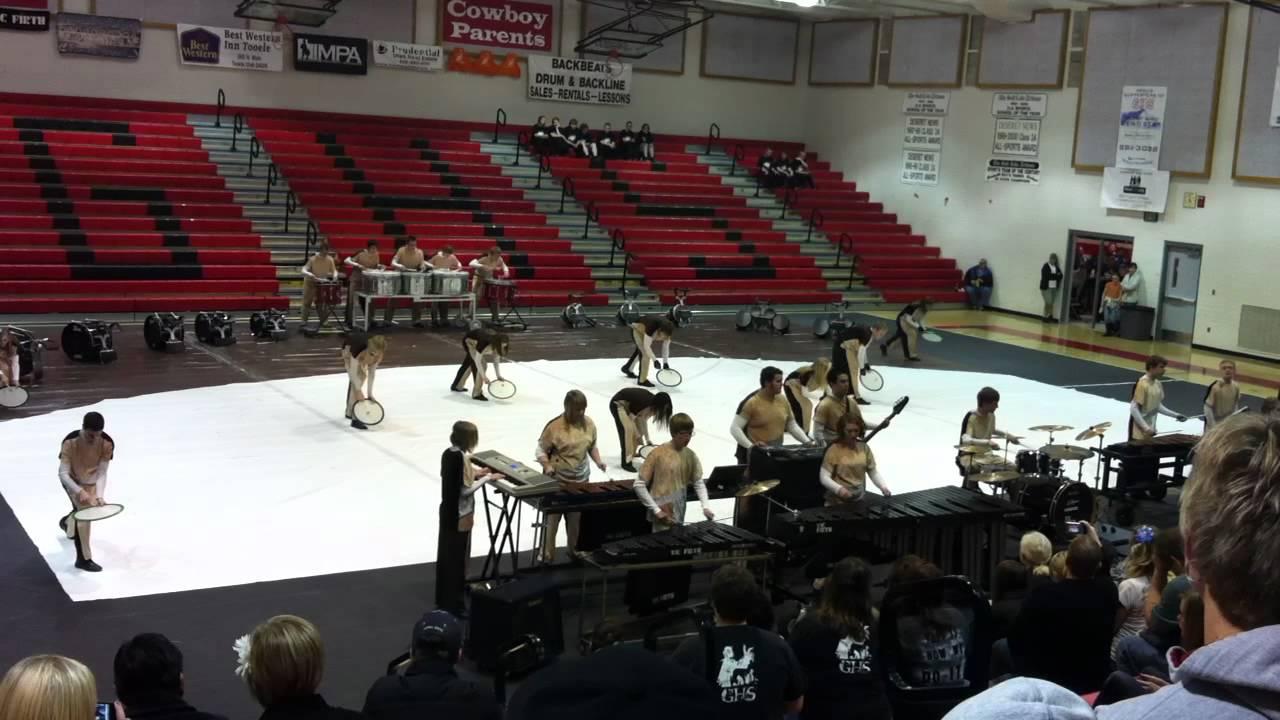 Grantsville High School Drumline 2012