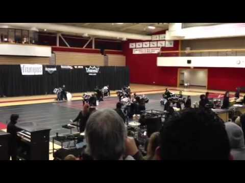 James Logan HS drumline 2012
