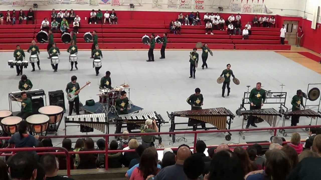 JFK HS Winter Percussion 2012 @ McClatchy