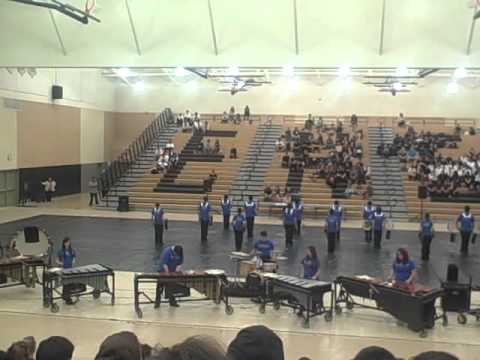 Madera Winter Percussion 2012