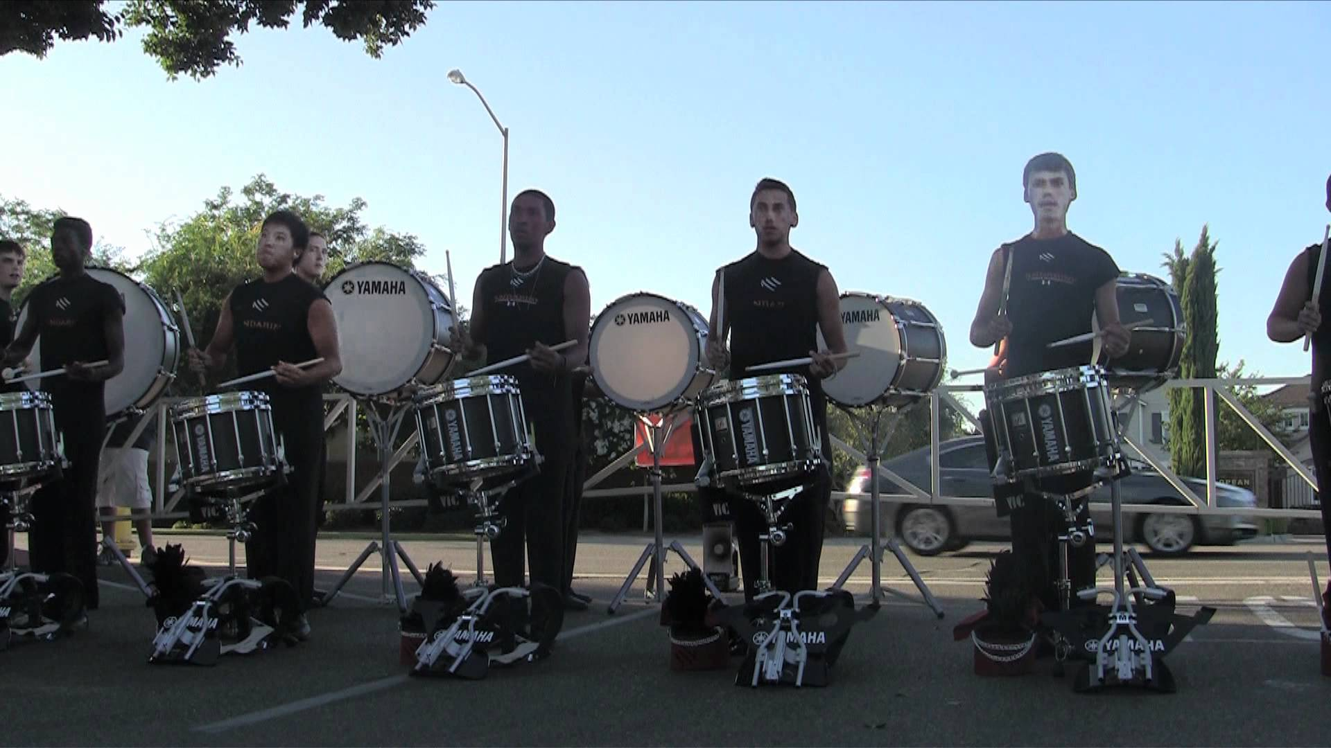 Mandarins Drumline 2012 – Warmup Exercises