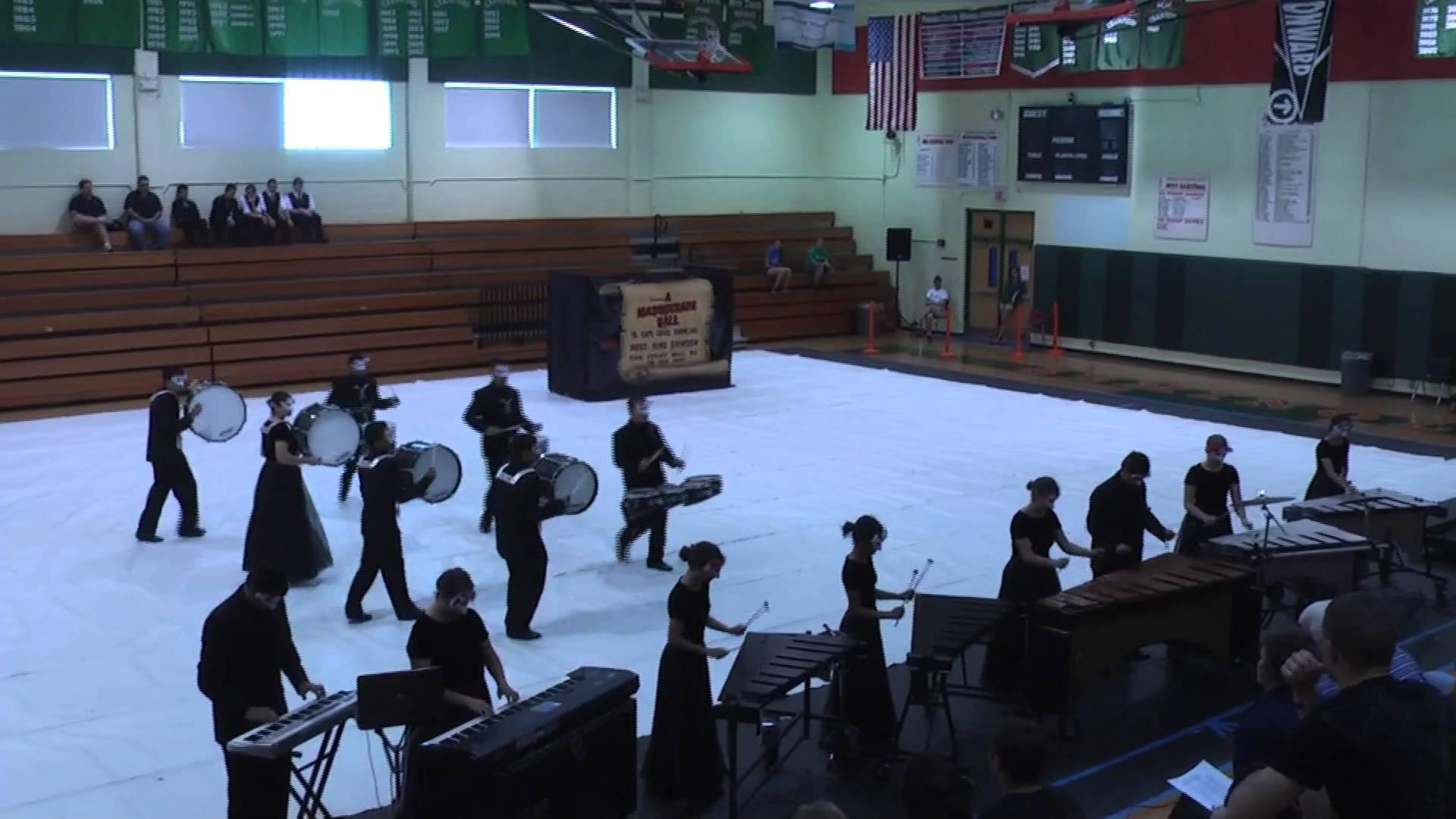 Masque – Cape Coral High School Indoor Drumline 2012 at Seminole High School