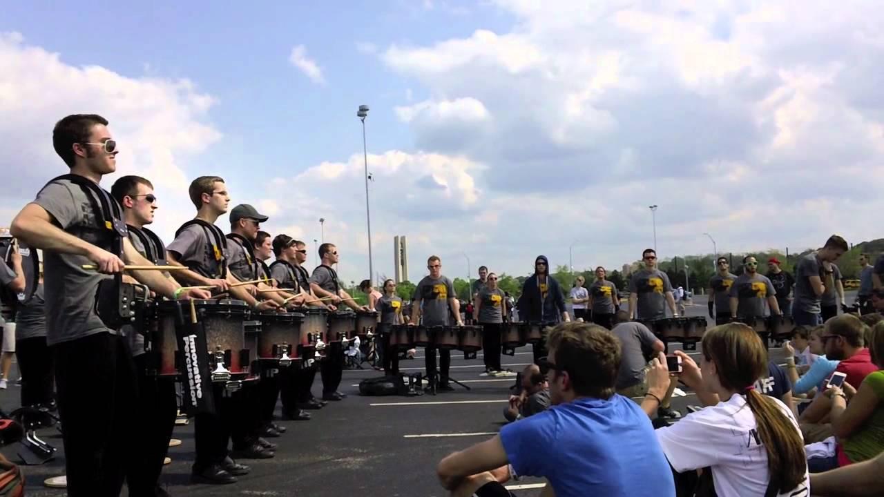 Matrix Percussion 2012 WGI Prelims Lot