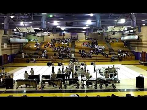 Merced Drumline 2012 CVGPC Show