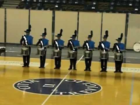 millenium drum & bugle corps drumline 2009