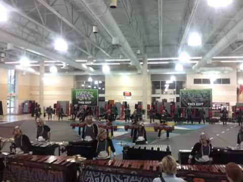 Milton Indoor Drumline 2012 Final Run Through