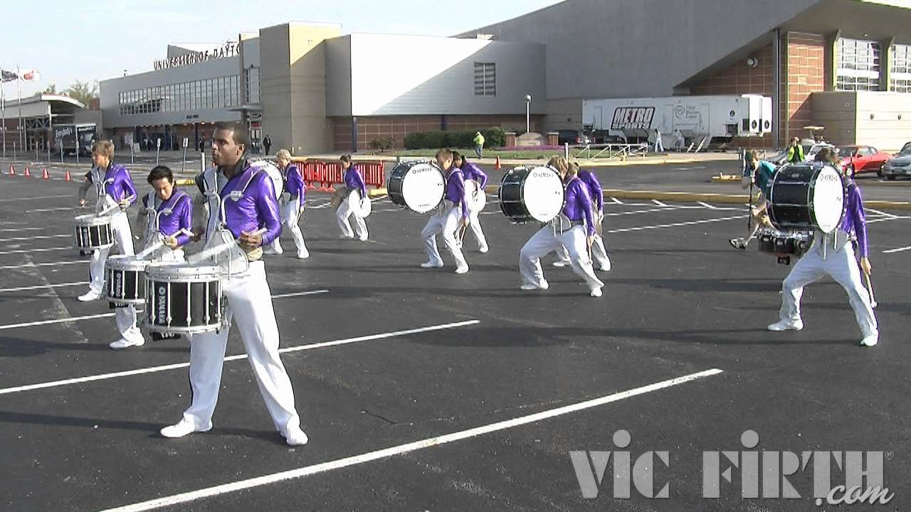 "Mission Viejo HS: Vic Firth WGI 2012 ""In The Lot"" Video #1"