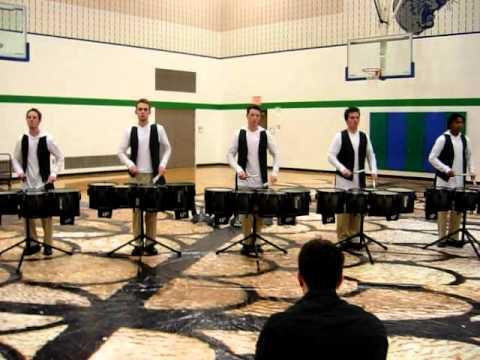 MN Brass Indoor Drumline 2012 – Hybrid