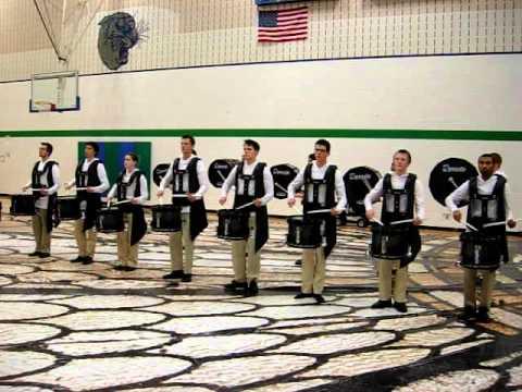 MN Brass Indoor Drumline 2012 – Tap It