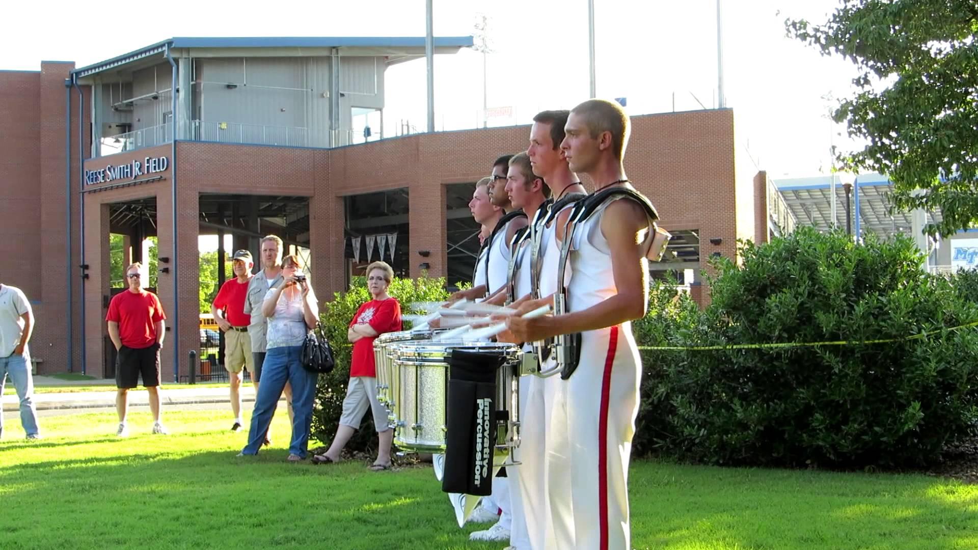 Music City Drum Corps Snareline 2012 MCDC rolls