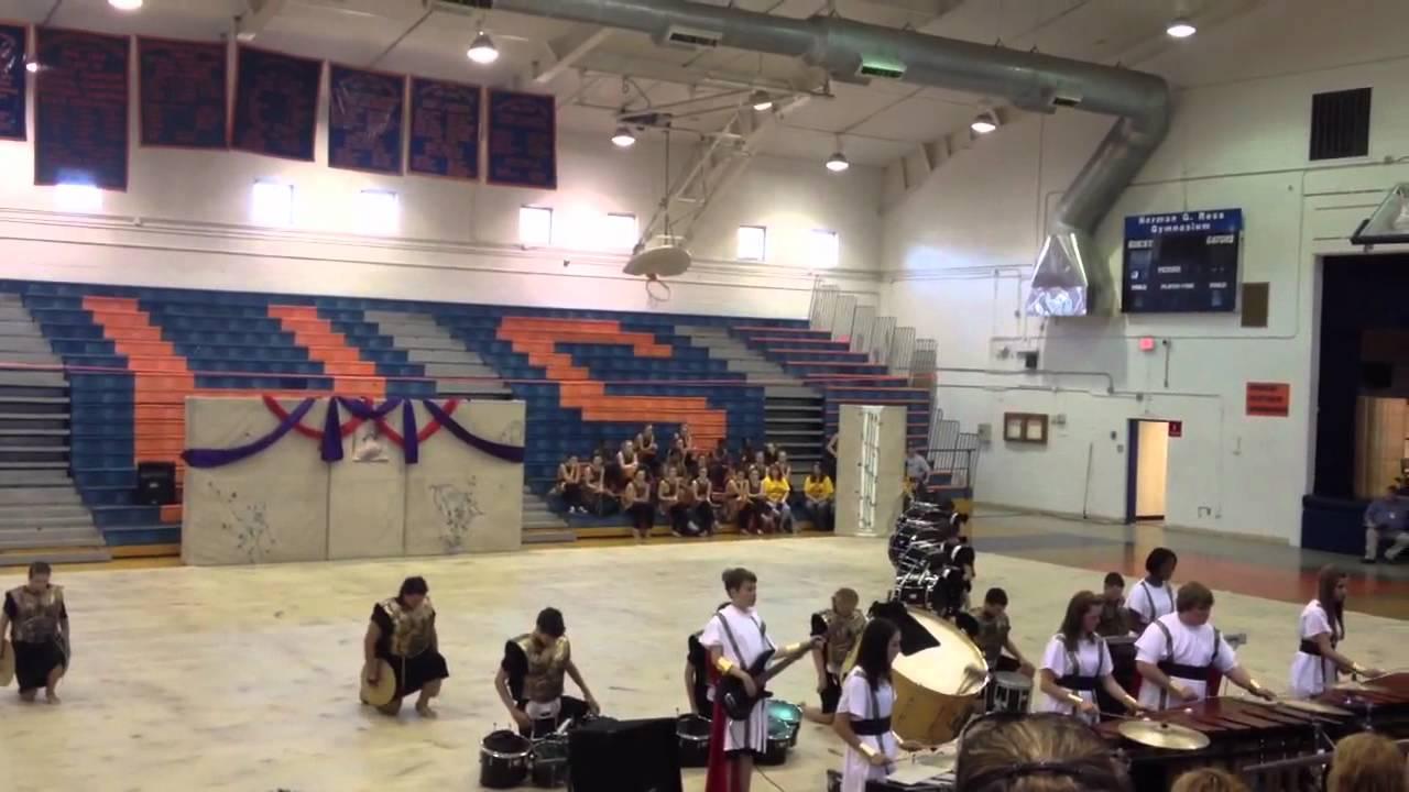 "Navarre indoor percussion 2012 ""Centurion"" Escambia high sc"