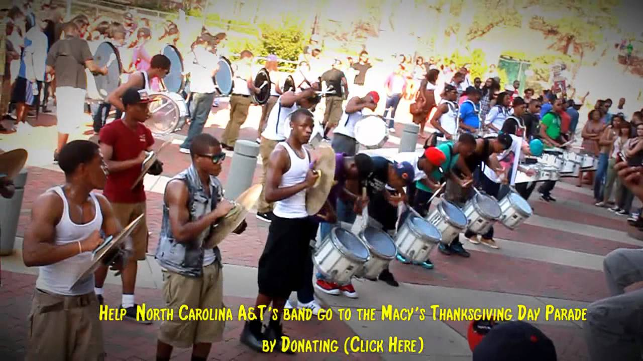 North Carolina A&T Drumline 2012 Campus
