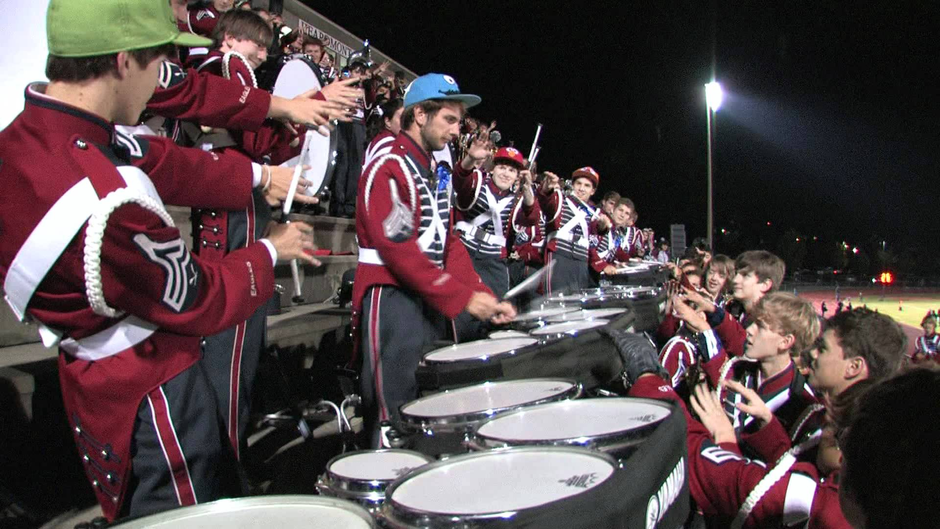 "Oak Mountain High School Drum Line 2011-2012 – ""Jig 2″ – October 28, 2011"