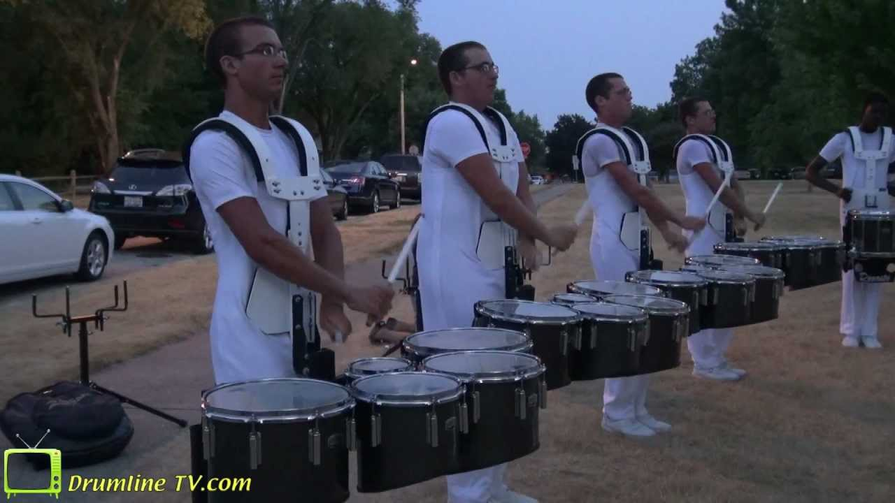 Phantom Regiment 2012 Drumline – Show of Shows – Rockford, Illinois 7-15-12