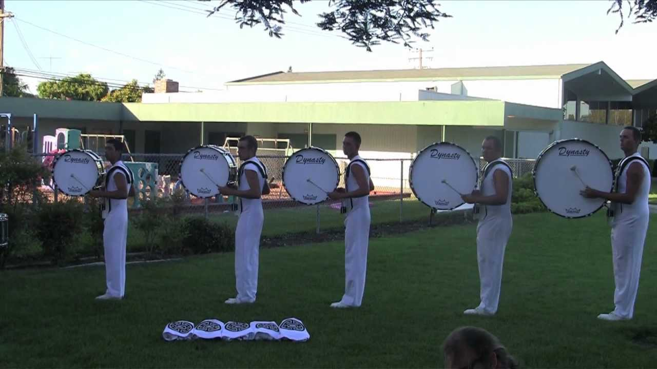 Phantom Regiment Drumline 2012 – Opener