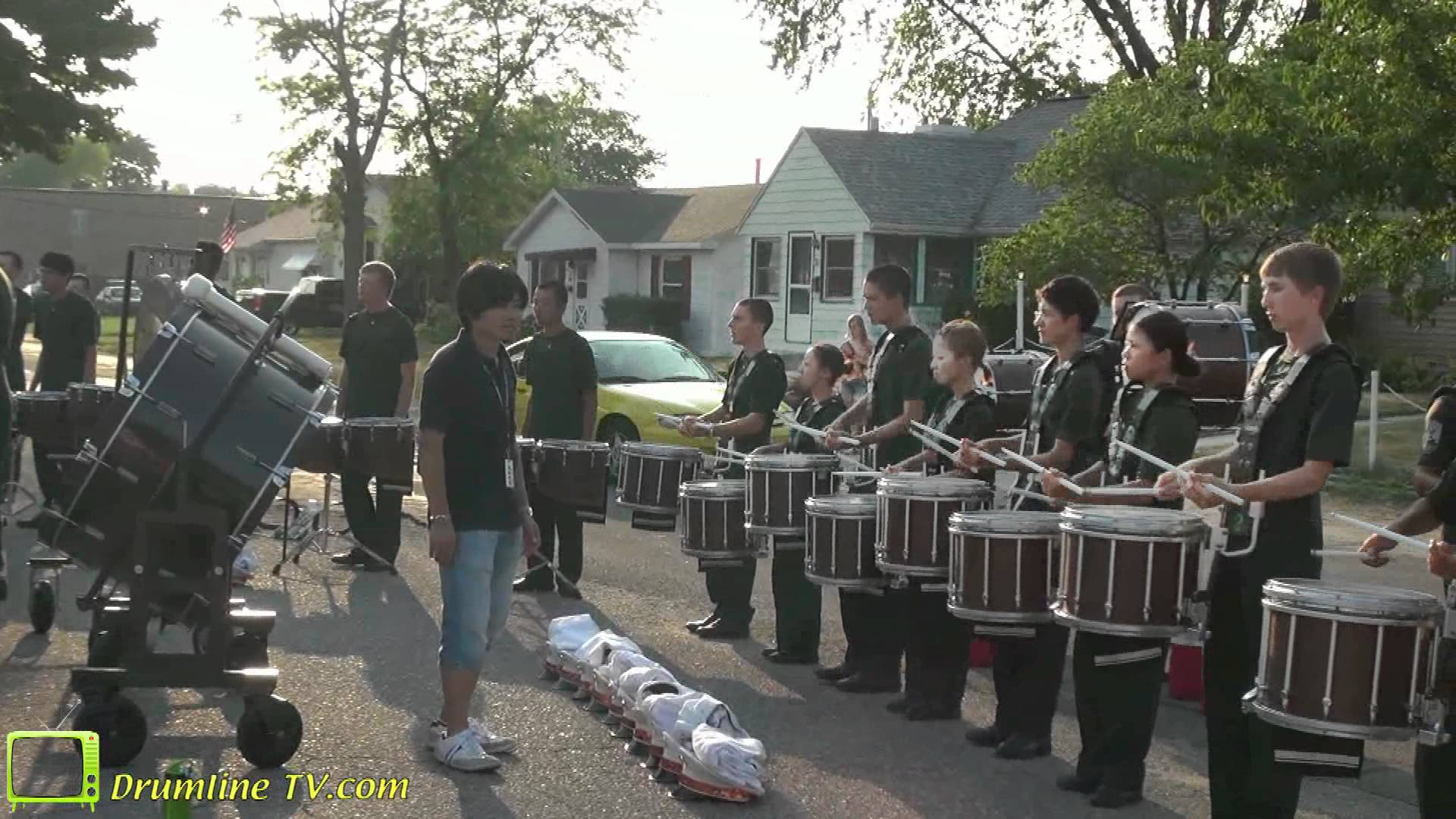 Pioneer Drumline 2012 – Pageant of Drums Show – Michigan City, Indiana 6-30-2012