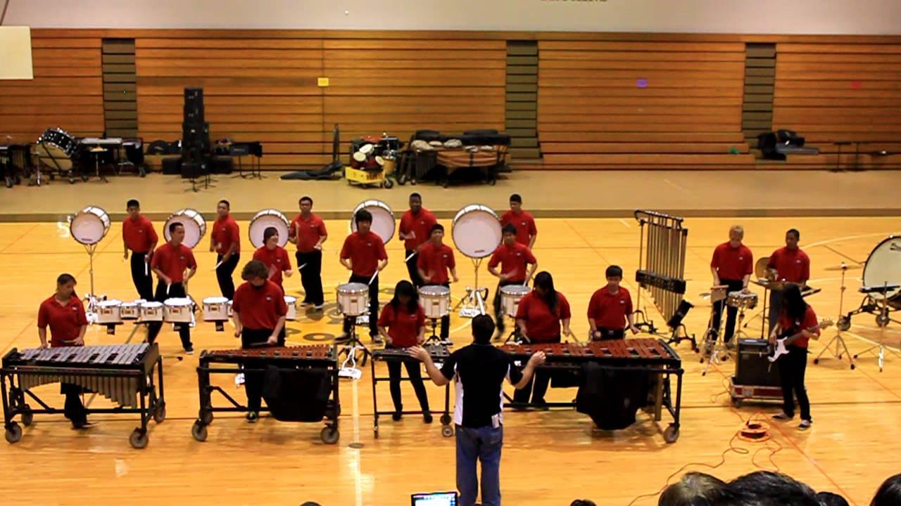 """Radford Drumline 2012 """"Zero to Hero"""""""