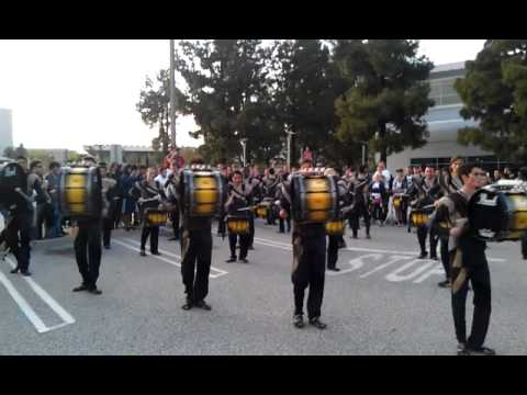 RCC 2012 Drumline in the lot