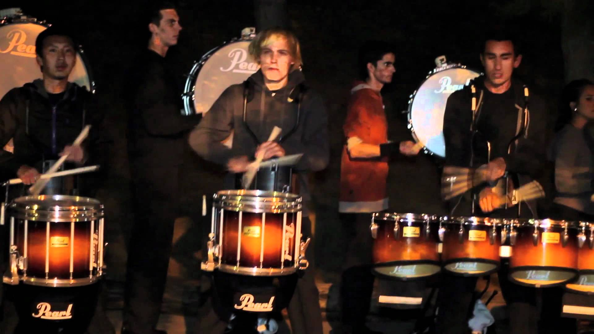 RCC fall 2011 drumline drum break