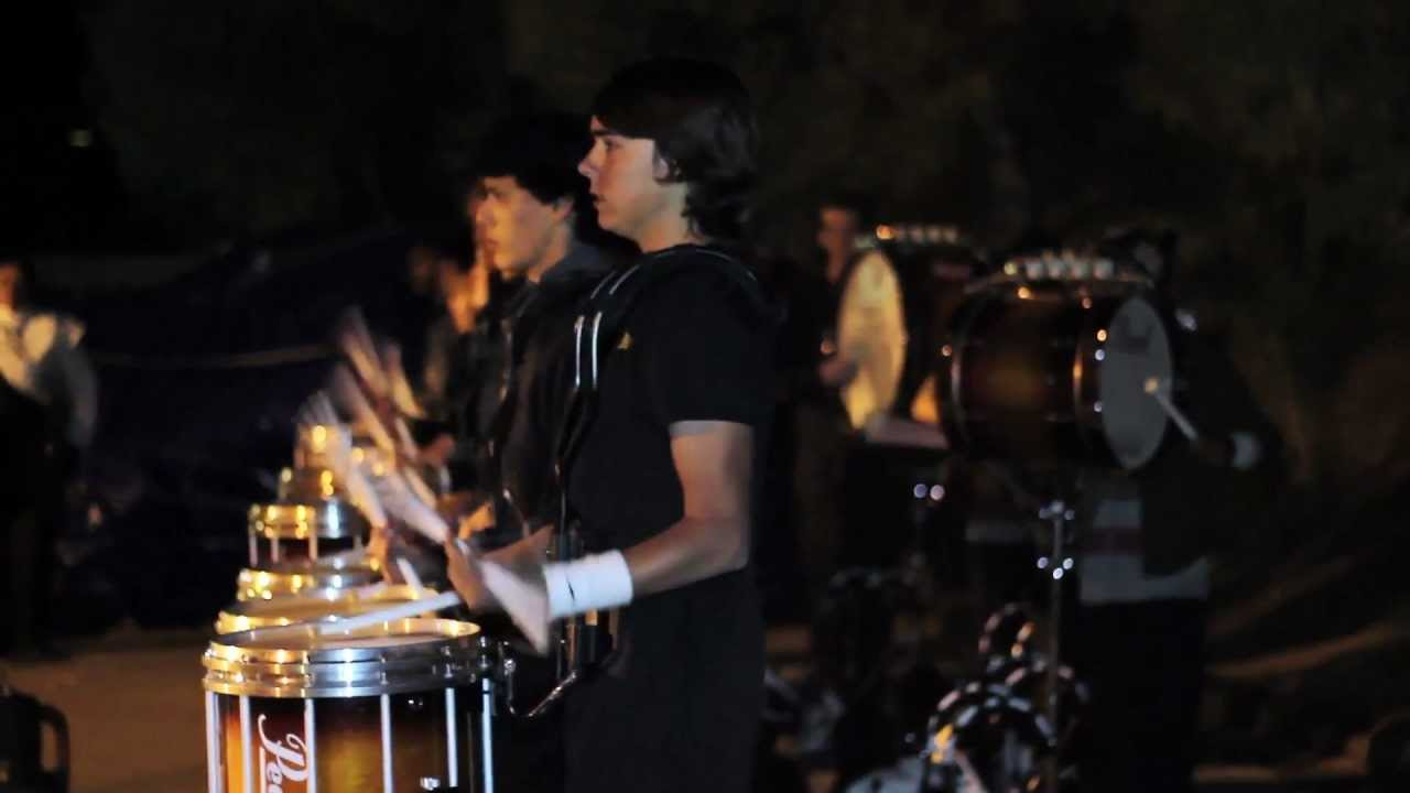 RCC Fall 2011 drumline full closer