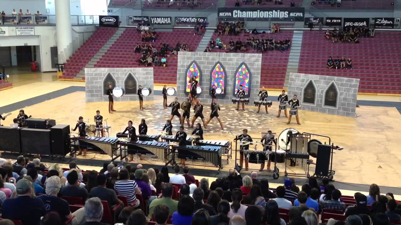 "RCMC Drumline 2012 – ""The Bells"" SCPA Finals 4/7/12 – HD"