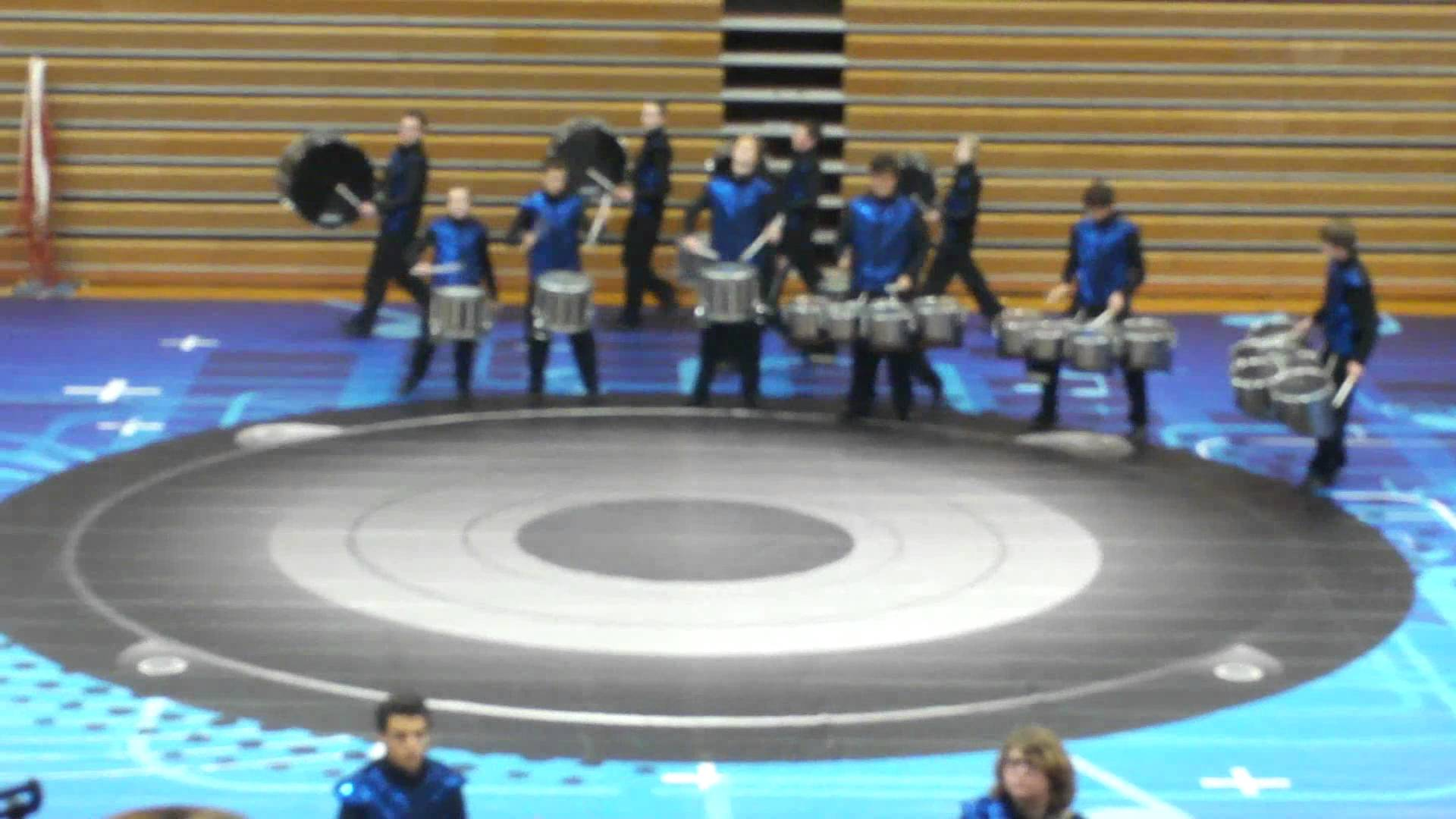 "Rochester Lourdes Winter Drumline WGI Send Off Show 2012 ""Music Is"""