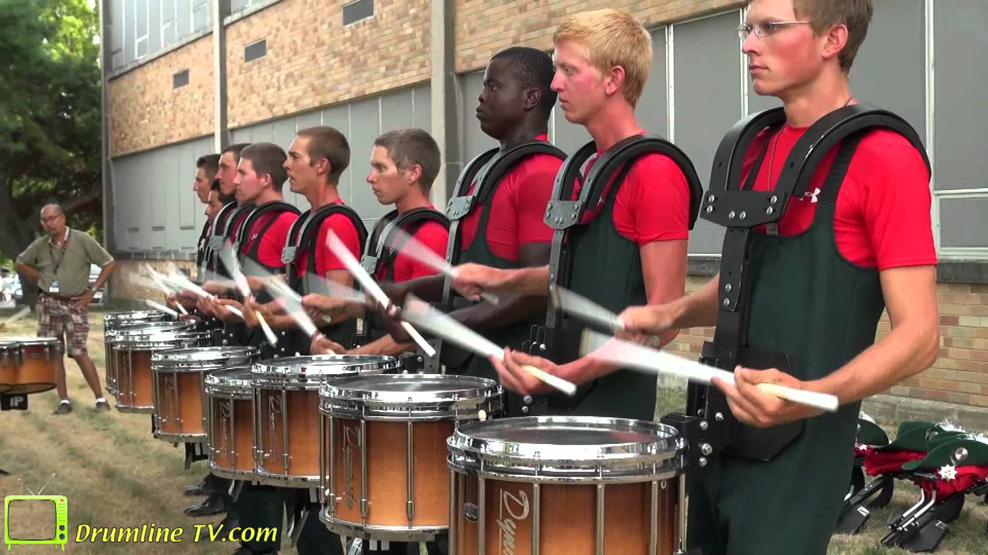 Santa Clara Vanguard 2012 Drumline – Show of Shows – Rockford, Illinois 7-15-12