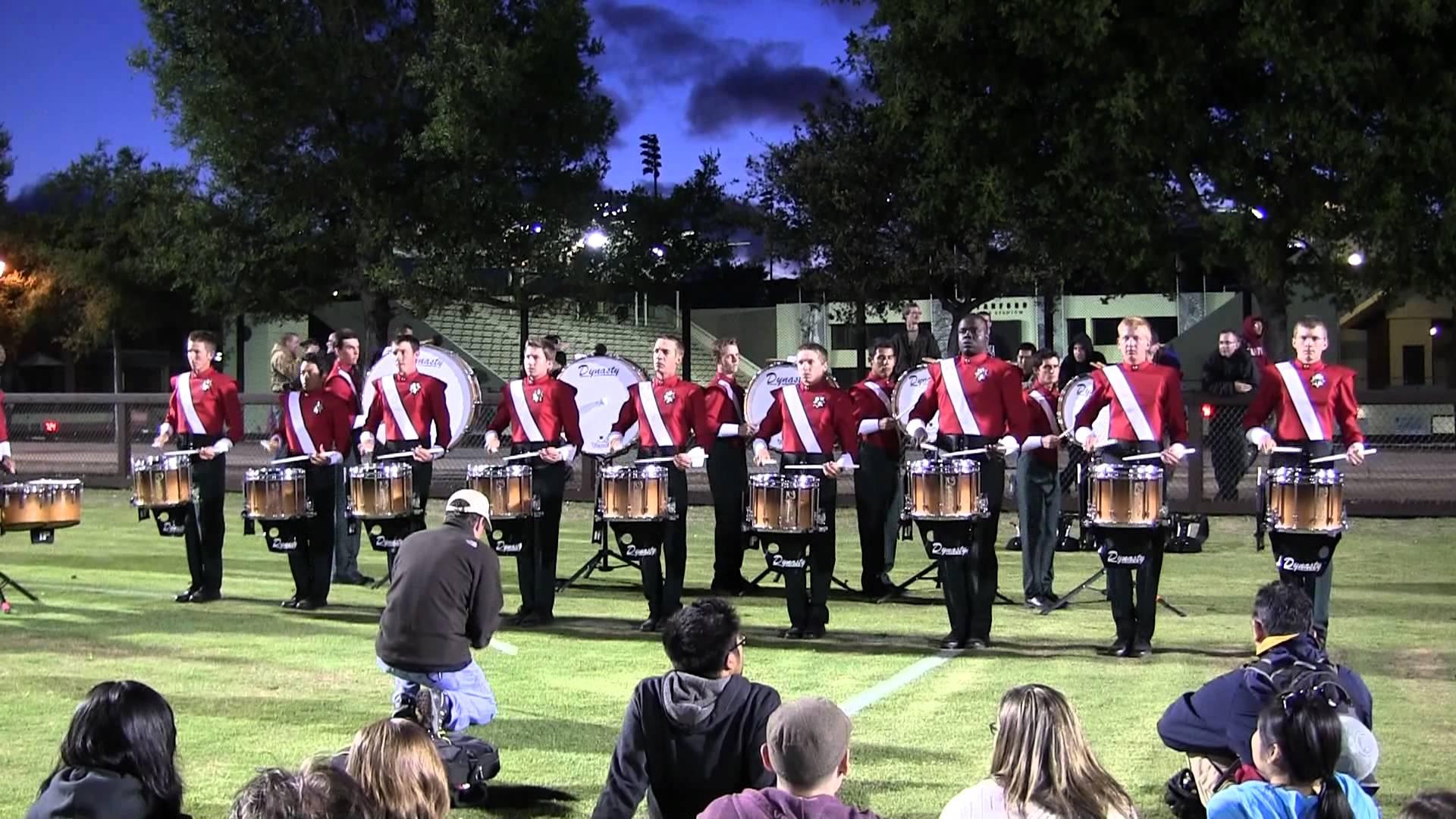 Santa Clara Vanguard 2012 – Drumline