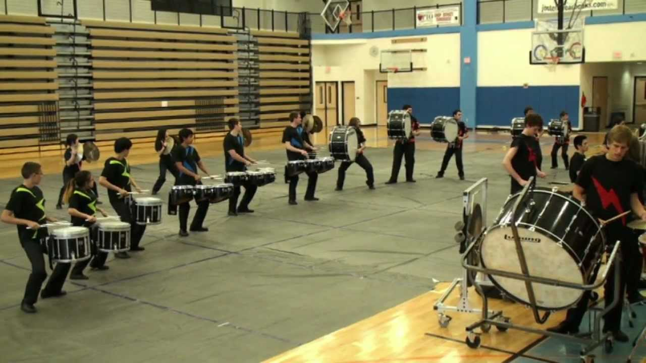"Skyline Winter Drumline – 2012 ""On The Edge"" Show"