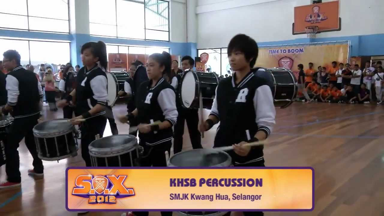 SOX 2012 Central Region Heats Finalist (Drums): KHSB Percussion