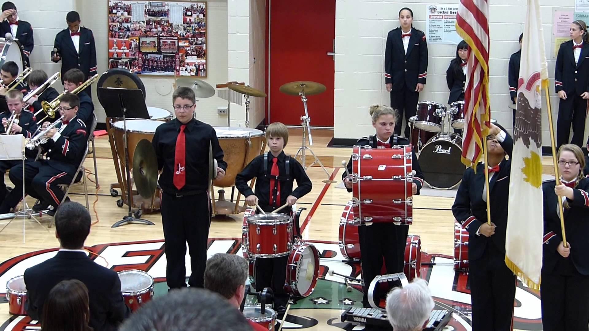 Star Spangled Banner Cymbal Fail