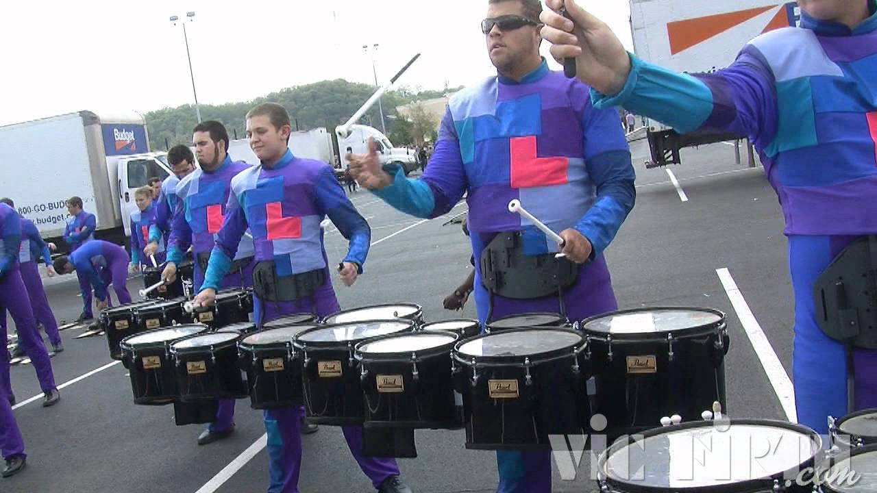 "Stryke: Vic Firth WGI 2012 ""In The Lot"" Video #1"