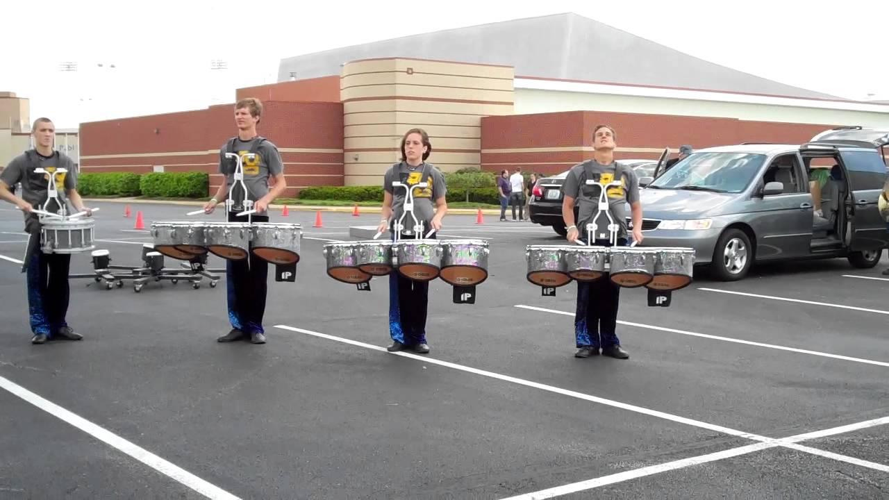TCIE 2012 Drumline WGI Championships Dayton.