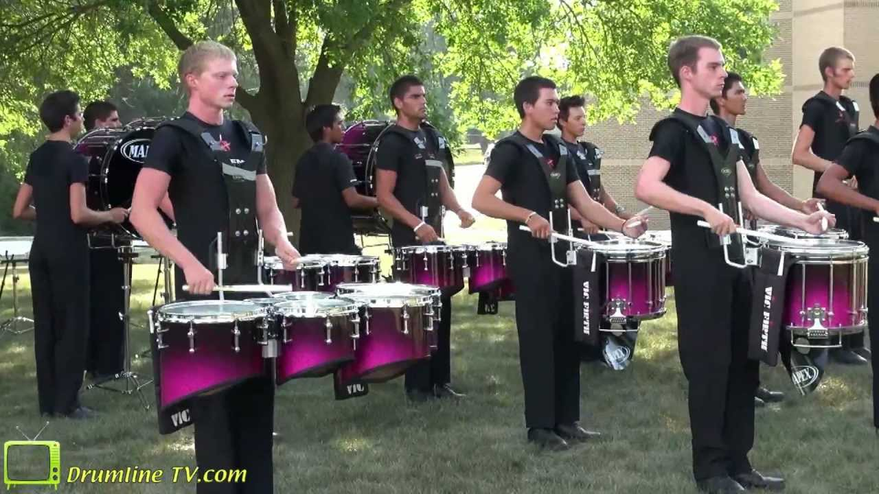 The Academy 2012 Drumline – Celebration in Brass Show – Waukee, Iowa 7-10-12