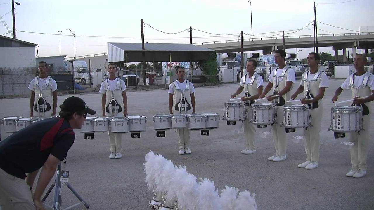 "The Cadets ""In the Lot"" : DCI 2012 San Antonio : HD Footage!"