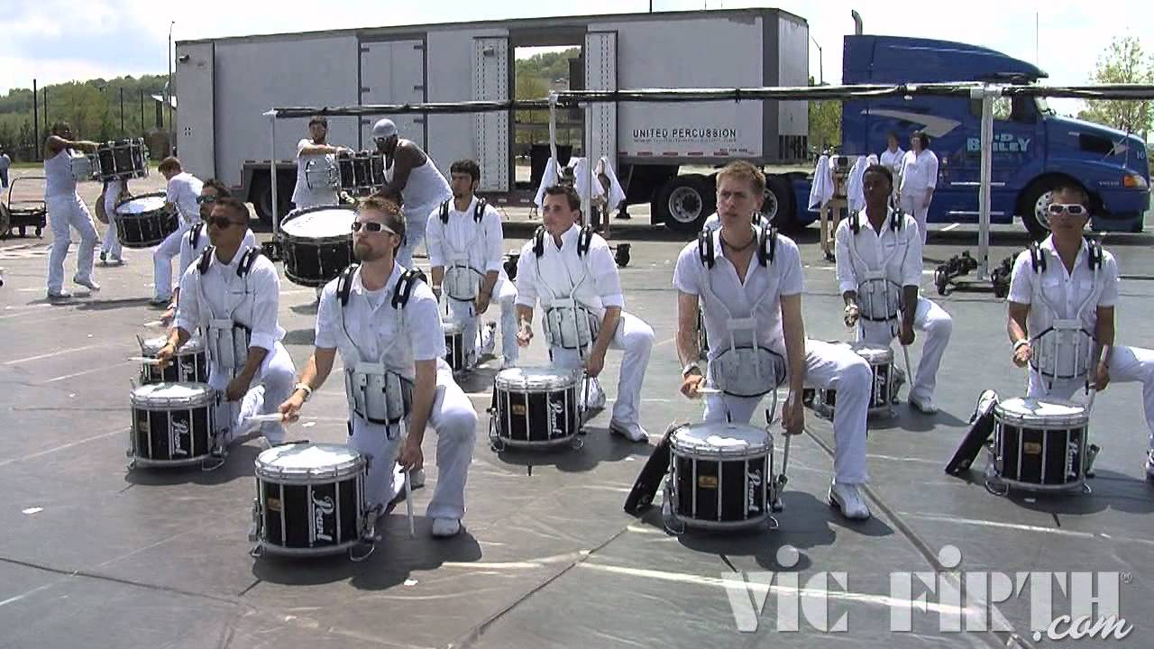 "United Percussion: Vic Firth WGI 2012 ""In The Lot"" Video #1"